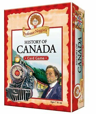 Professor Noggin's History of Canada game