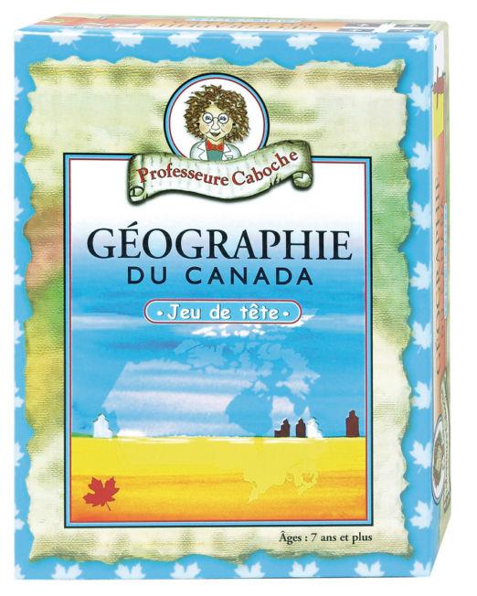 Professeure Caboche geographie Du Canada