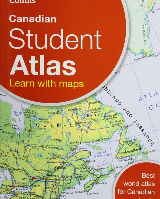 Collins Canadian Student Atlas Revised