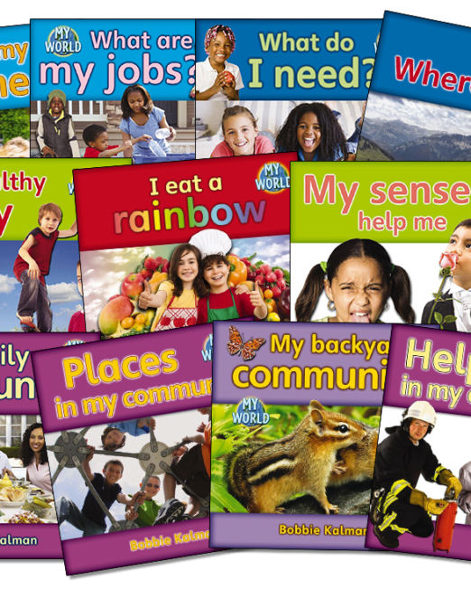 My World Kindergarten Social Studies Bundle
