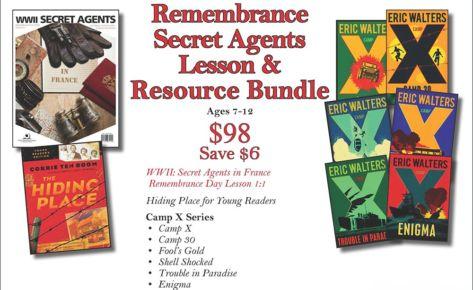 Remembrance: Secret Agents Lesson & Resource Bundle