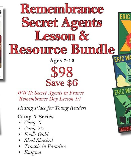 Remembrance Secret Agents Lesson & Resource Bundle