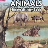 African Animals Sticker Book