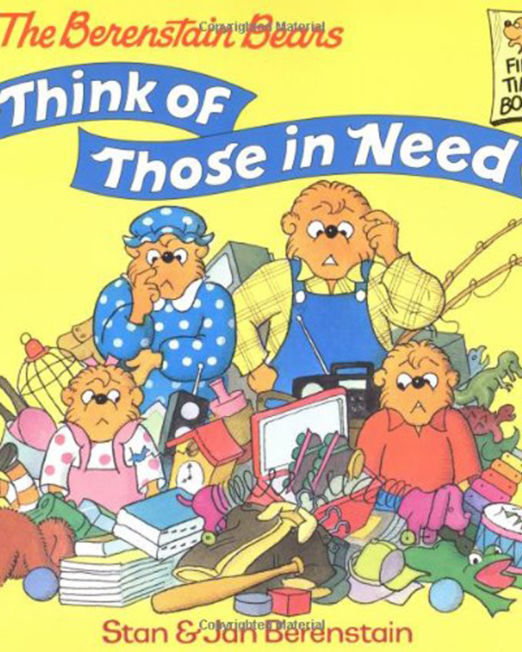 Berenstain Bears Think of Those in Need