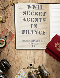 Secret Agents in France Lesson Remembrance Day