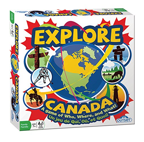 Explore Canada Board Game