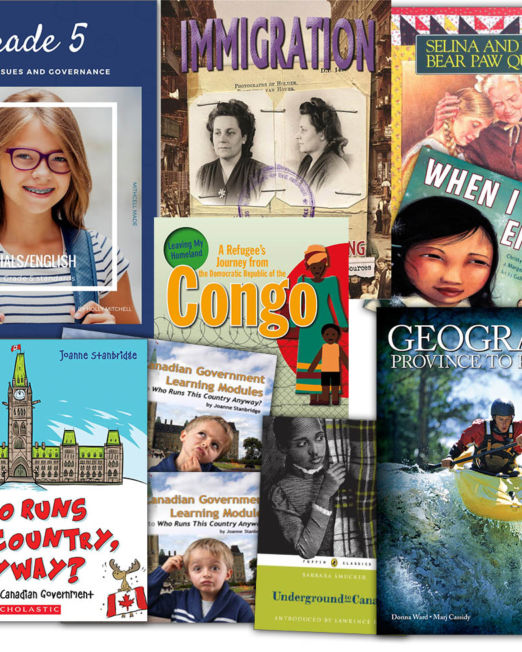 Grade 5 Canadian Issues & Governance Inclusive Bundle (Mitchell Made)