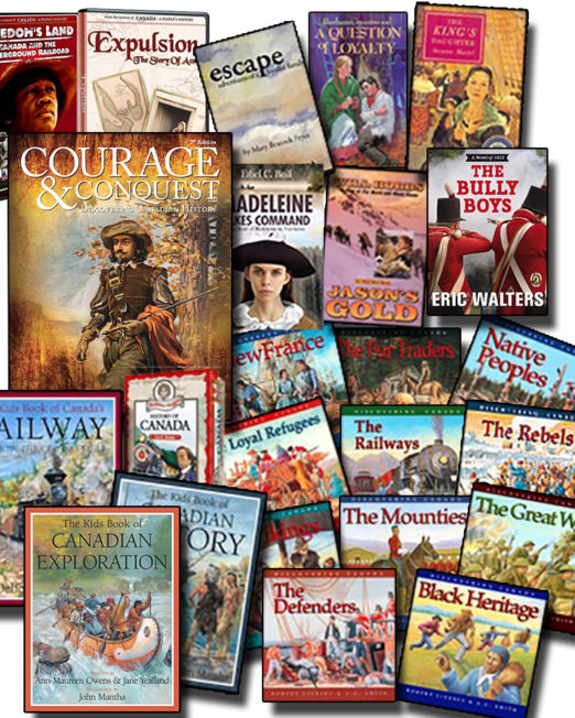 Canadian History Inclusive Bundle