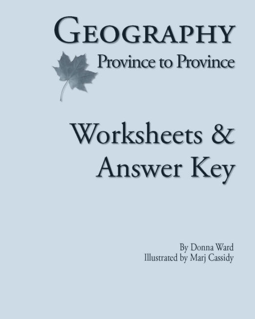 Geography, Province to Province Worksheets & Answer Key