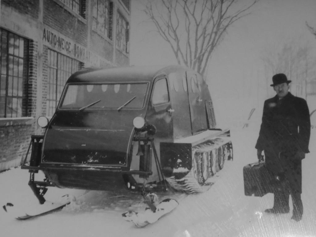 1959~Bombardier and his Ski-Doo Blog