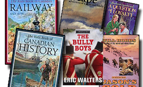 Canadian History Living Books Bundle without Courage & Conquest