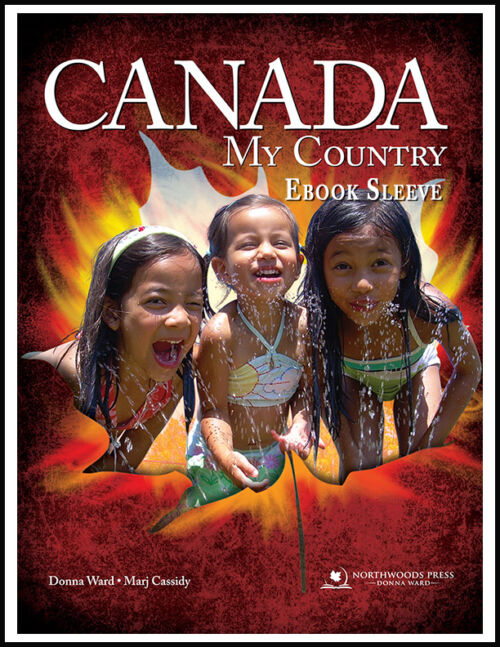 Canada My Country Ebook Sleeve