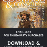 Email sent Courage & Conquest 7th Edition Members Download