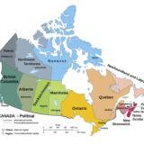 Printable Political Maps of Canada