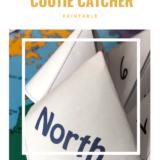 Water Bodies Cootie Catcher Printable