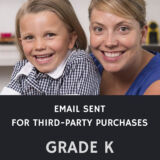 Email Sent Grade K: Identity and Families Course (Mitchell Made)