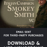 Email Sent Italian Campaign & Smokey Smith: Remembrance Day Lesson