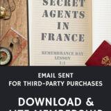 Email Sent Secret Agents In France Lesson